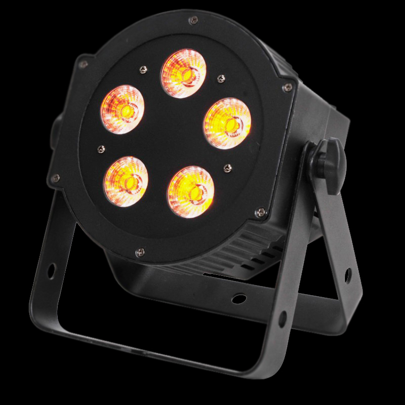 Projecteur ADJ leds 5x10 Watts RGB WA UV